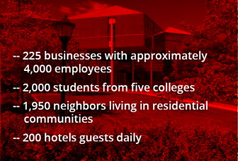 Washed image with text overlay: