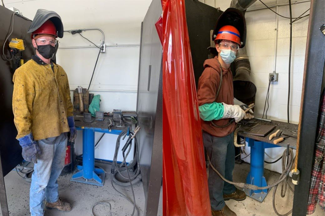 From Student to Full-time Welder