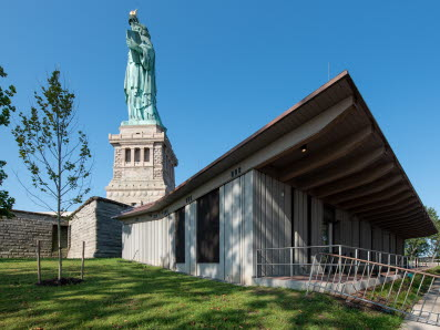 High Concrete Group will supply architectural precast for the new Statue of Liberty museum.