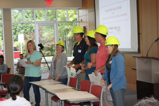 Fun and informal presentations capped the three-day High Companies externship