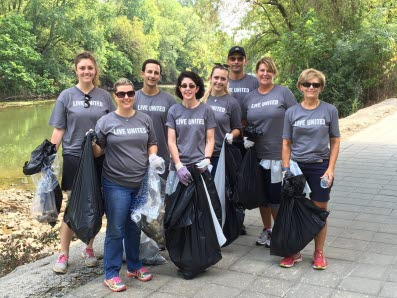 High Company United Way Volunteers - Day of Caring