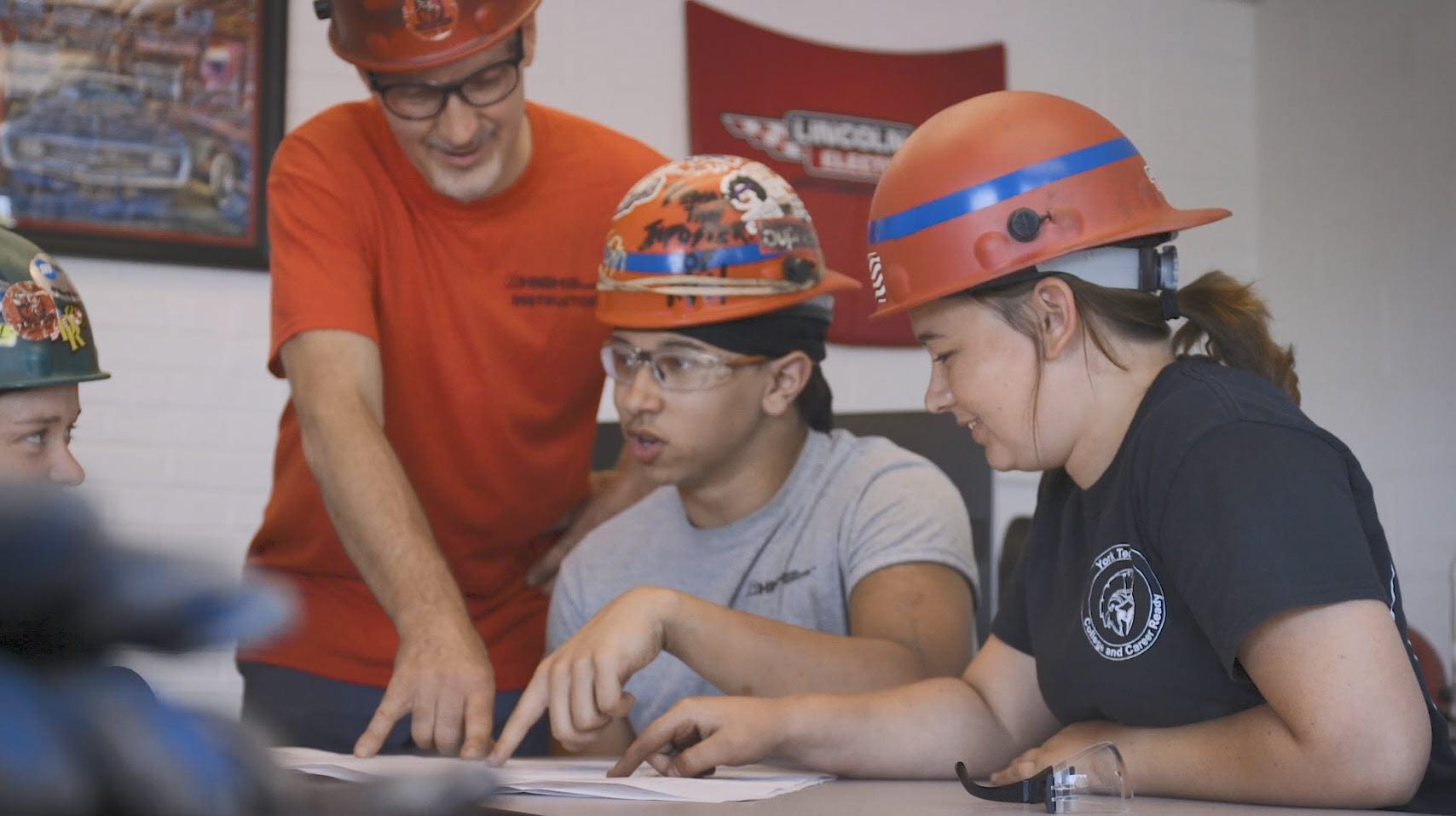 Students Find Welding Careers through High Steel University